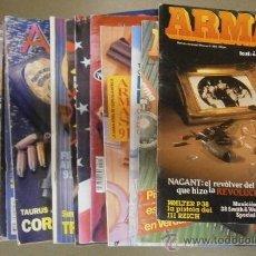 Militaria: LOTE DE 18 REVISTAS ARMAS. Lote 32629994