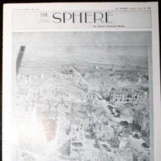 Militaria: THE SPHERE - 10 / JUNIO / 1944 - EN INGLÉS. Lote 32757685