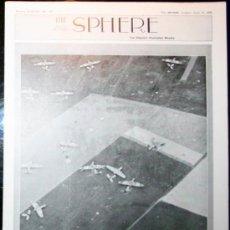 Militaria: THE SPHERE - 17 / JUNIO / 1944 - EN INGLÉS. Lote 32757720
