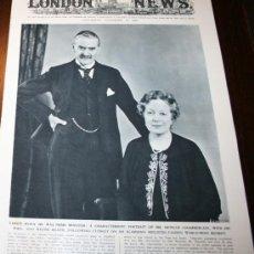 Militaria: THE ILLUSTRATED LONDON NEWS - 16/ NOVIEMBRE / 1940 - EN INGLÉS. Lote 32800745