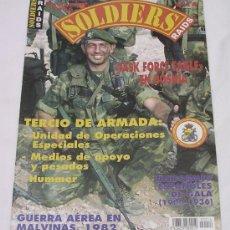Militaria: SOLDIERS RAIDS Nº 14 - 1996 - TERCIO DE LA ARMADA - MALVINAS - TASK FORCE EAGLE - BOSNIA. Lote 32826275