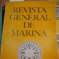 Militaria: REVISTA GENERAL DE LA MARINA. Lote 36738400