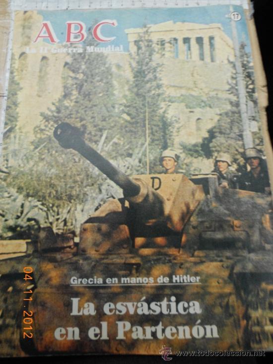 MILITAR ALEMANIA: ABC 17 II GUERRA MUNDIAL FOTOS COLECCIONISMO LJ.BE (Militar - Revistas y Periódicos Militares)