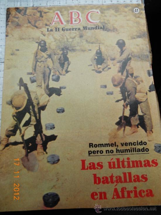 MILITAR ALEMANIA: ABC 41 II GUERRA MUNDIAL FOTOS COLECCIONISMO LJ.BE (Militar - Revistas y Periódicos Militares)