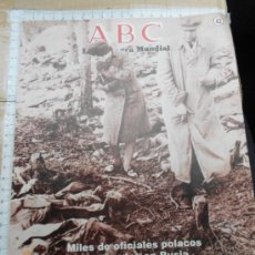Militaria: MILITAR ALEMANIA: ABC 42 II GUERRA MUNDIAL FOTOS COLECCIONISMO LJ.BE . Lote 34295411