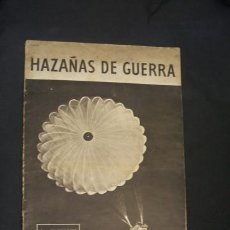 Militaria: HAZAÑAS DE GUERRA - REVISTA PROPAGANDA INGLESA - 2ª GUERRA MUNDIAL - SWP 32 - . Lote 34292718
