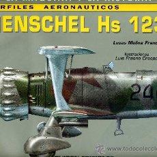 Militaria: HENSCHEL HS 123 (LA MAQUINA Y LA HISTORIA Nº2) PERFILES AERONAUTICOS. Lote 34884666