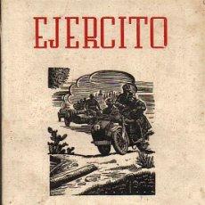 Militaria: EJERCITO REVISTA ILUSTRADA DE LAS ARMAS Y SERVICIOS Nº 44- SEPTIEMBRE 1943. Lote 35083994