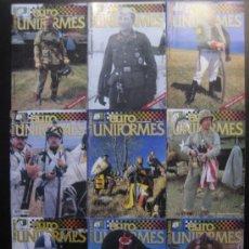 Militaria: LOTE 7 REVISTAS EUROMODELISMO EUROUNIFORMES. Lote 37128549