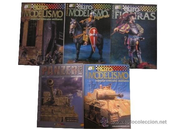 LOTE REVISTAS EUROMODELISMO (Militar - Revistas y Periódicos Militares)