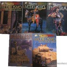 Militaria: LOTE REVISTAS EUROMODELISMO. Lote 35295574