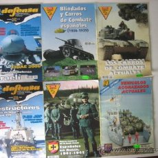 Militaria: LOTE 6 REVISTAS DEFENSA. Lote 35525662