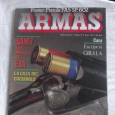 Militaria: REVISTA ARMAS NUMERO 56. Lote 35974368