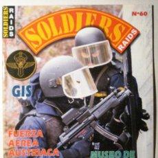 Militaria: SOLDIERS - REVISTA Nº 60. Lote 36778045