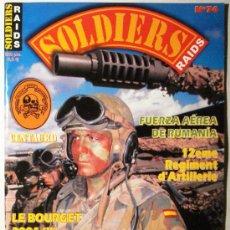 Militaria: SOLDIERS - REVISTA Nº 74. Lote 36778200