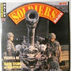 Militaria: SOLDIERS - REVISTA Nº 75. Lote 36778213
