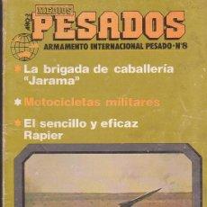 Militaria: MEDIOS PESADOS Nº 8 - ARMAMENTO INTERNACIONAL PESADO ( TANQUES ). Lote 37001835