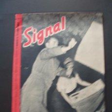 Militaria: SIGNAL REVISTA ALEMANA EN ESPAÑOL . 17 / 1943 . Lote 37073826