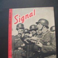 Militaria: SIGNAL REVISTA ALEMANA EN ESPAÑOL . 12 / 1943 . Lote 37073855