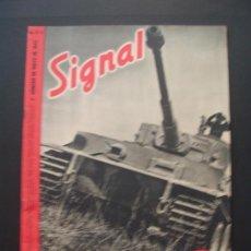 Militaria: SIGNAL REVISTA ALEMANA EN ESPAÑOL . 10 / 1943 . Lote 37073865