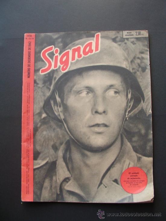 SIGNAL REVISTA ALEMANA EN ESPAÑOL . 23/24 / 1942 (Militar - Revistas y Periódicos Militares)