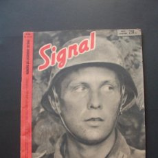 Militaria: SIGNAL REVISTA ALEMANA EN ESPAÑOL . 23/24 / 1942 . Lote 37073915