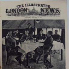 Militaria: THE ILLUSTRATED LONDON NEWS. (EN INGLES), II GUERRA MUNDIAL. 14 OCTUBRE 1944.. Lote 37179264