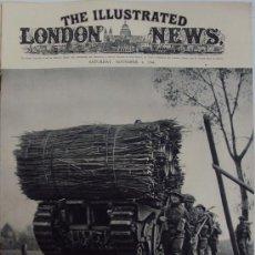 Militaria: THE ILLUSTRATED LONDON NEWS. (EN INGLES), II GUERRA MUNDIAL. 4 NOVIEMBRE 1944.. Lote 37179407
