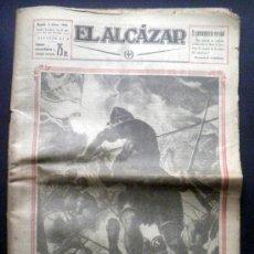 Militaria: PERIODICO EL ALCAZAR 8 DICIEMBRE 1942. NUMERO EXTRAORDINARIO LOS EJERCITOS DE ESPAÑA. Lote 37262620