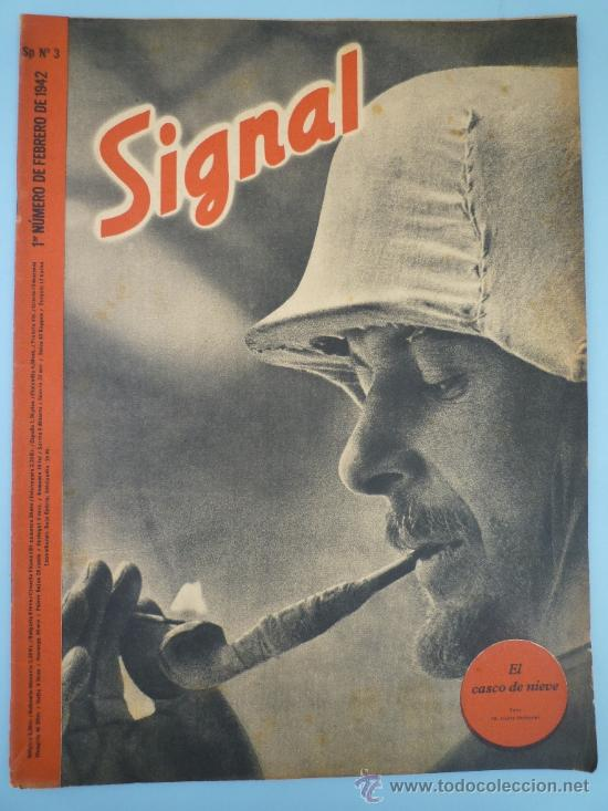 REVISTA SIGNAL FEBRERO 1942 (Militar - Revistas y Periódicos Militares)