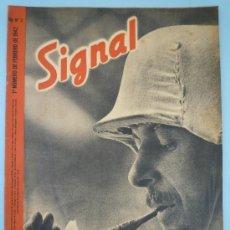 Militaria: REVISTA SIGNAL FEBRERO 1942. Lote 37662300