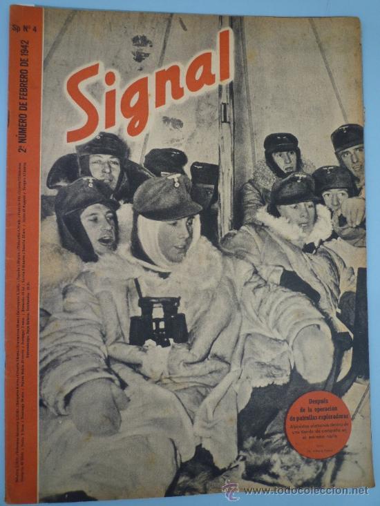 REVISTA SIGNAL FBRERO 1942 (Militar - Revistas y Periódicos Militares)