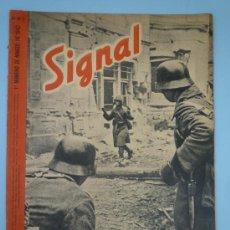 Militaria: REVISTA SIGNAL MARZO 942. Lote 37662319