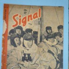 Militaria: SIGNAL FEBRERO 1942. Lote 37662325