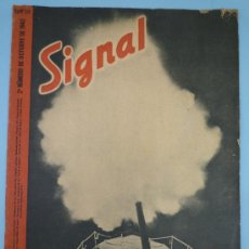 Militaria: SIGNAL OCTUBRE 1942. Lote 37662344