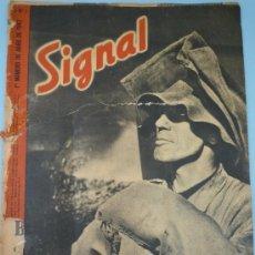 Militaria: SIGNAL ABRIL 1942. Lote 37662356