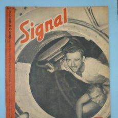 Militaria: SIGNAL OCTUBRE 1941. Lote 37662623