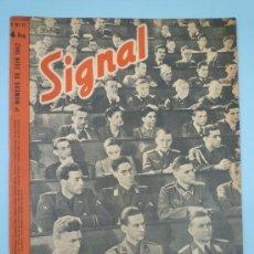 Militaria: SIGNAL JUNIO 1942 VERSIÓN FRANCESA. Lote 37662703