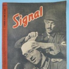 Militaria: SIGNAL ABRIL 1942. Lote 37662787