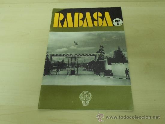 REVISTA REBASA CIR 8 . 2ºLLAMAMIENTO - REEMPLAZO 1977-ABRIL78 (Militar - Revistas y Periódicos Militares)