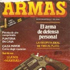 Militaria: REVISTA ARMAS --FASCICULO 1---1982. Lote 38195983
