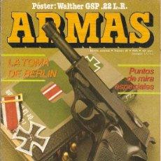 Militaria: REVISTA ARMAS --FASCICULO 48-1986. Lote 38197792