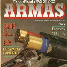 Militaria: REVISTA ARMAS --FASCICULO 56-1987. Lote 38197849