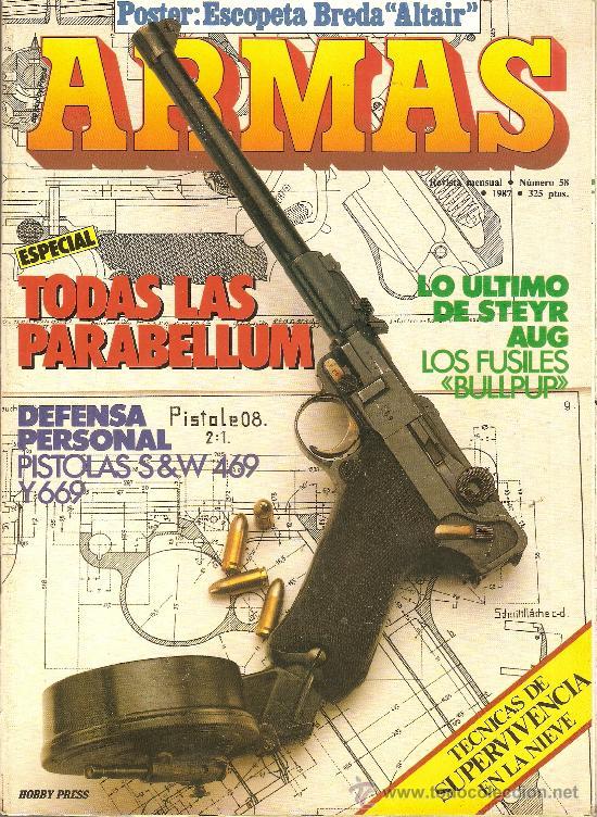 REVISTA ARMAS --FASCICULO 58-1987 (Militar - Revistas y Periódicos Militares)