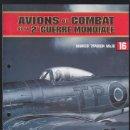 Militaria: AVIONES DE COMBATE DE LA 2ª GUERRA MUNDIAL FASCICULO 16 HAWKER TYPHOON MK.IB ALTAYA AVIONS DE COMBAT. Lote 38461925