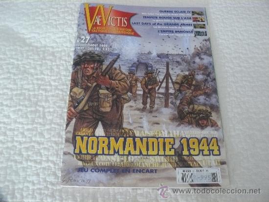 REVISTA VAE VICTIS Nº 27, NORMANDIE 1944, 67 PAGINAS EN FRANCES EDITADO POR HISTOIRE & COLLECTIONS (Militar - Revistas y Periódicos Militares)