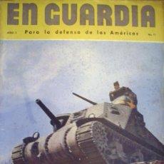Militaria: EN GUARDIA - POR LA DEFENSA DE LAS AMERICAS. Lote 38756432