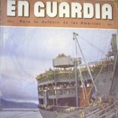 Militaria: EN GUARDIA - POR LA DEFENSA DE LAS AMERICAS. Lote 38756489