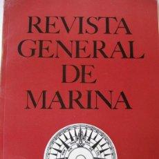 Militaria: REVISTA GENERAL DE MARINA, TOMO 176, ABRIL 1969. Lote 39198499