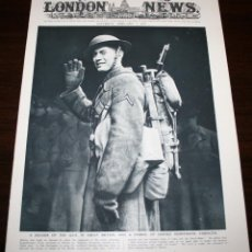 Militaria: THE ILLUSTRATED LONDON NEWS - 7/FEBRERO/1942 - PORTADA SOLDADO U.S.A. EN GRAN BRETAÑA. Lote 39340428
